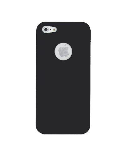 UltraThin Silicone Case  за iPhone 5 - черен - 2