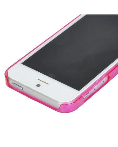 Ultraза iPhone 5 - Thin ABS - розов - 4