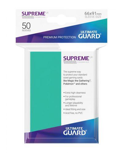 Протектори Ultimate Guard Supreme UX Sleeves - Standard Size - Тюркоазени (50 бр.) - 3