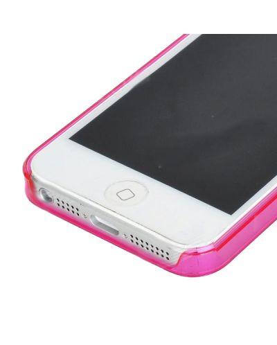 Ultraза iPhone 5 - Thin ABS - розов - 5