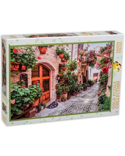 Пъзел Gold Puzzle от 1000 части - Улица в Италия - 2