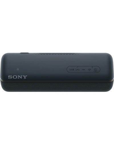 Мини колонка Sony - SRS-XB32, черна - 3
