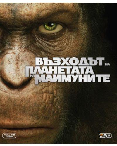Възходът на Планетата на маймуните (Blu-Ray) - 1