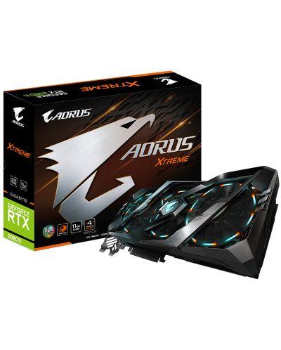 Видео карта Gigabyte Aorus GeForce RTX - 2080 Ti Xtreme, 11GB GDDR 6 - 1