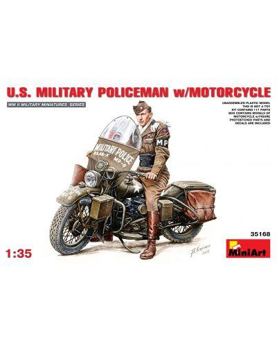 Военен сглобяем модел - Американска моторизирана военна полиция - 1