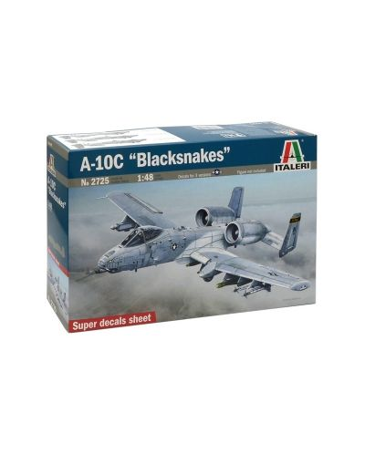 """Военен сглобяем модел - Американски реактивен самолет A-10C """"Черните змии"""" (A-10C """"Black Snakes"""") - 1"""