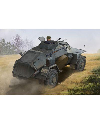 Военен сглобяем модел - Германска лекобронирана разузнавателна машина 221 Лайхтер серия 1 (Sd.Kfz.221 Leichter Panzerspahwagen 1st Series) - 1