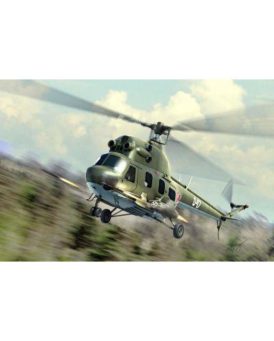 Военен сглобяем модел - Полски хеликоптер Мил Ми-2УРН Хоплит (Mil Mi-2URN Hoplite) - 1