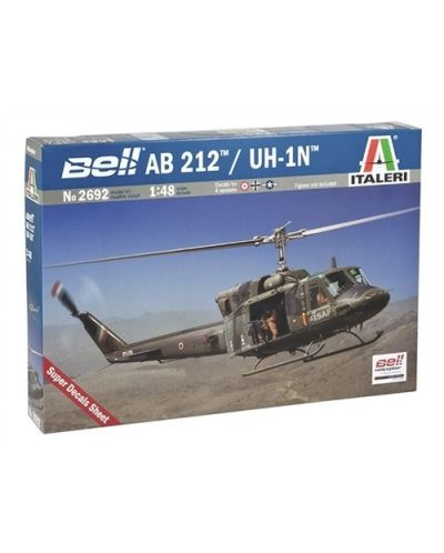 Военен сглобяем модел - Военен хеликоптер на САЩ BELL AB212/UH-1N - 1