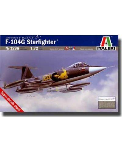 Военен сглобяем модел - Изтребител бомбардировач на САЩ F-104G STARFIGHTER - 1