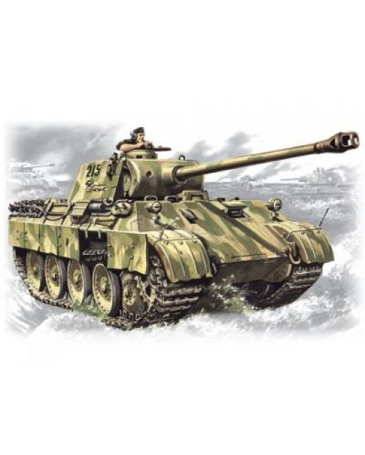 Военен сглобяем модел - Германски танк Pz.Kpfw.V Panther Ausf.D - 1