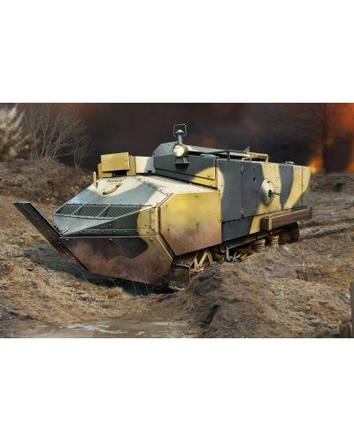 Военен сглобяем модел - Френска бойна машина от Първата световна война Schneider CA - Armored - 1