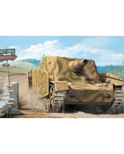 Военен сглобяем модел - Германски танк STURMPANZER IV EARLY VERSION(MID PRODUCTION) W: INTERIOR - 1