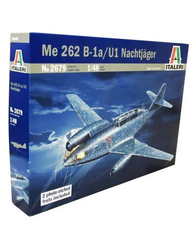 Военен сглобяем модел - Германски реактивен изтребител  Messerschmitt Me 262 B-1a /U1 Втора световна война - 1