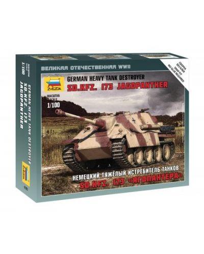 Военен сглобяем модел - Германски танк SD.KFZ.173 JAGDPANTHER - 1