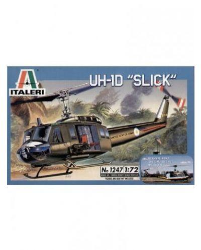 Военен сглобяем модел - Американски военен хеликоптер УХ-1Д Слик (UH-1D SLICK) - 1