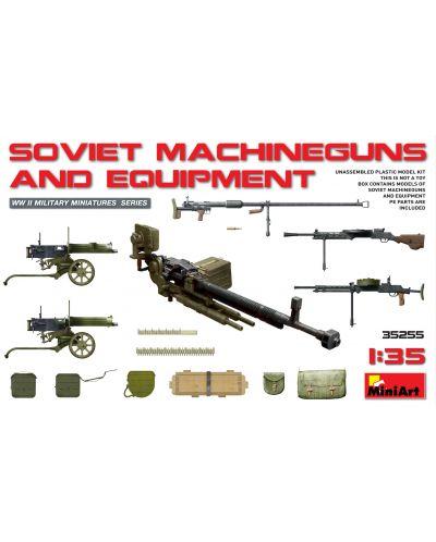 Военен сглобяем модел - Съветски картечници и оборудване (Soviet Machineguns & Equipment) - 1