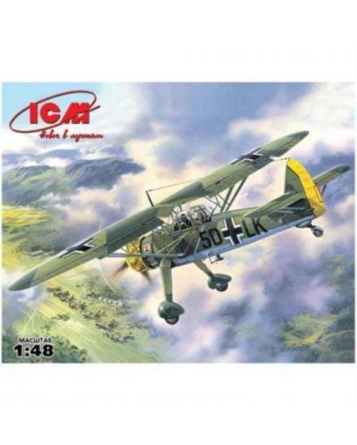 Военен сглобяем модел - Германски разузнавателен самолет Hs 126A-1 - 1