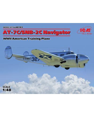 Военен сглобяем модел - Американски тренировъчен самолет  AT-7C-SNB-2C Navigator - 1