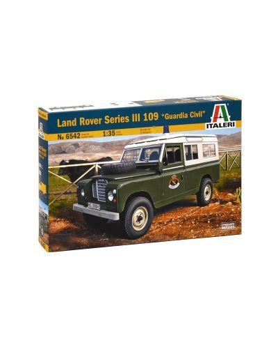 "Военен сглобяем модел - Военен автомобил Ланд Роувър серия III 109 ""Гардиа Сивил"" (LAND ROVER Series III 109 ""Guardia Civil"") - 1"