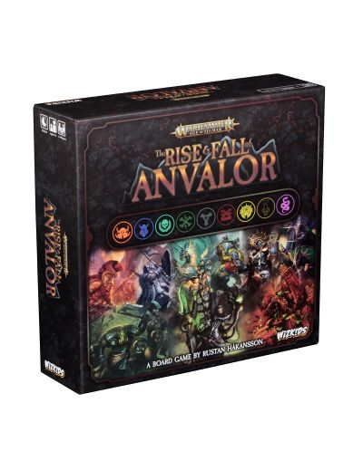 Настолна игра Warhammer Age of Sigmar – The Rise & Fall of Anvalor - 1