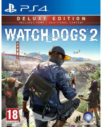 WATCH_DOGS 2 Deluxe Edition (PS4) - 1