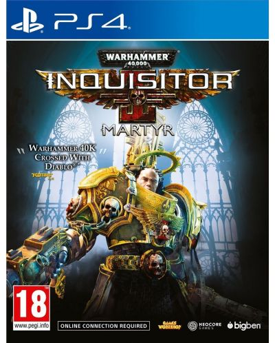 Warhammer 40,000 Inquisitor Martyr (PS4) - 1