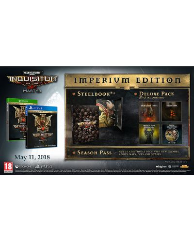 Warhammer 40,000 Inquisitor Martyr Imperium Edition (Xbox One) - 3