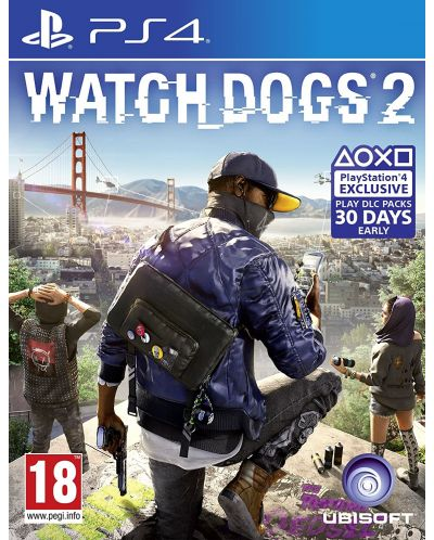 WATCH_DOGS 2 Standard Edition (PS4) - 1