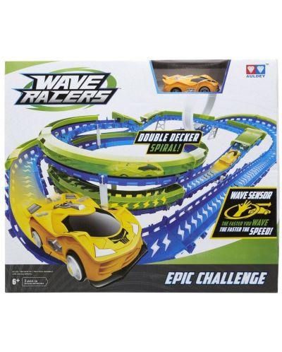Писта Wave Racers - Epic Challenge, с кола със сензор за движение - 3