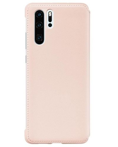 Калъф Huawei - Vogue P30 Pro, Wallet Cover, розов - 2