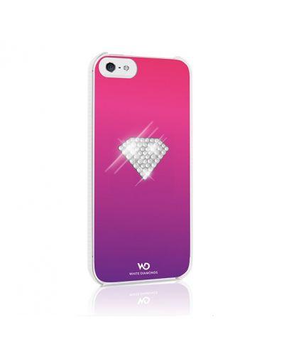 White Diamonds Rainbow за iPhone 5 -  розов - 2