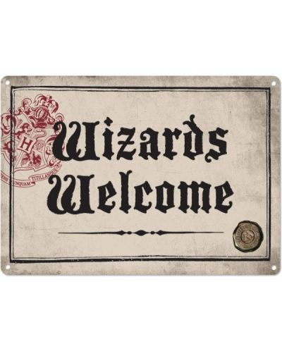 Табелка за врата Half Moon Bay - Harry Potter: Wizards Welcome - 1