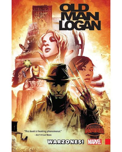 Wolverine Old Man Logan, Vol. 0: Warzones! - 1