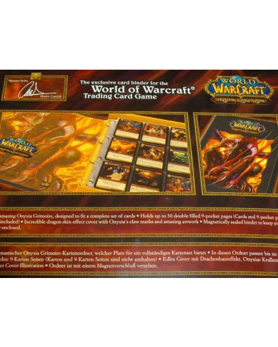 World of Warcraft TCG - Onyxia Deluxe Card Binder - 5