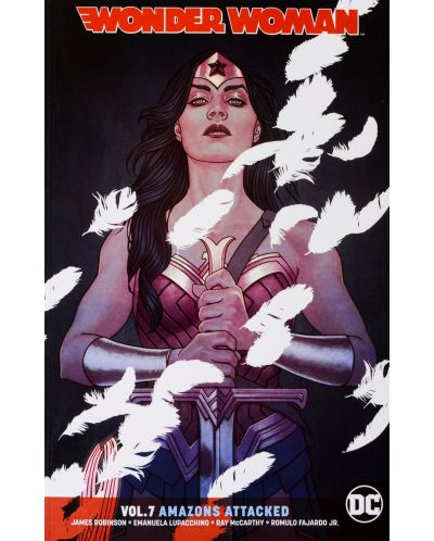 Wonder Woman Vol. 7: Amazons Attacked - 1