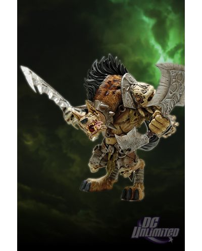 World of Warcraft Series 1 Premium Action Figure Gnoll Warlord Gangris Riverpaw 20 cm - 2