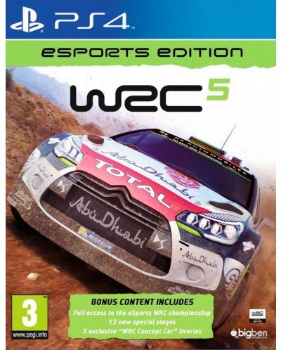 WRC 5 Esport Edition (PS4) - 1