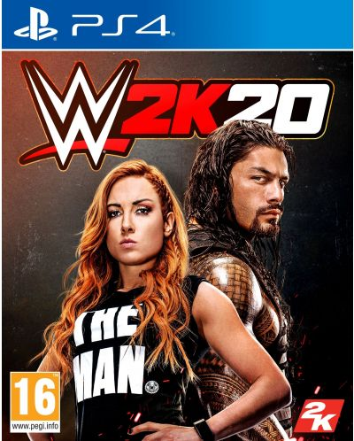 WWE 2K20 (PS4) - 1