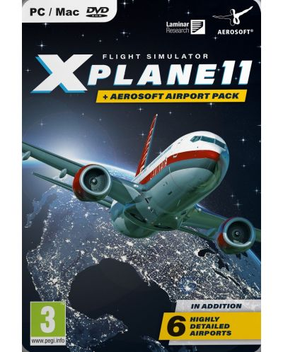 X-Plane 11 & Aerosoft Airport Collection (PC) - 1