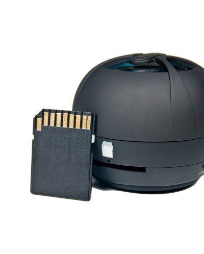 Мини колонка X-mini Happy 2GB - черна - 3