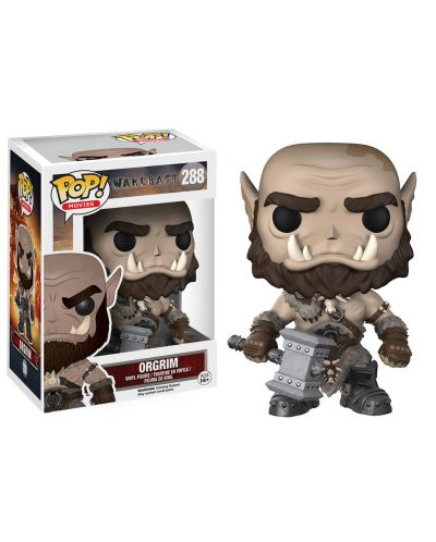 Фигура Funko Pop! Movies: Warcraft - Orgrim, #288 - 2