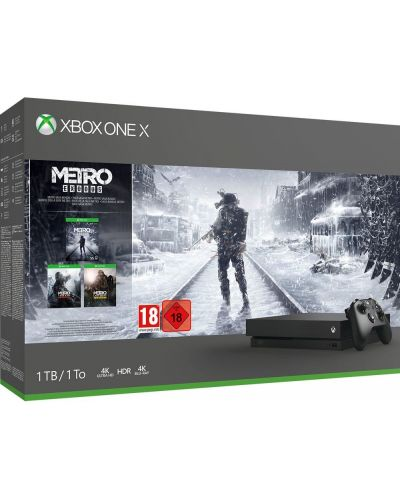 Xbox One X Metro Bundle - пакет от 3 игри - 1