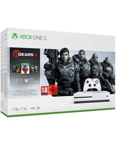 Xbox One S 1TB + Gears 5 - 1