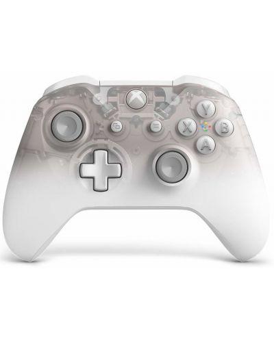 Контролер Microsoft - Xbox One Wireless Controller - Phantom White Special Edition - 1