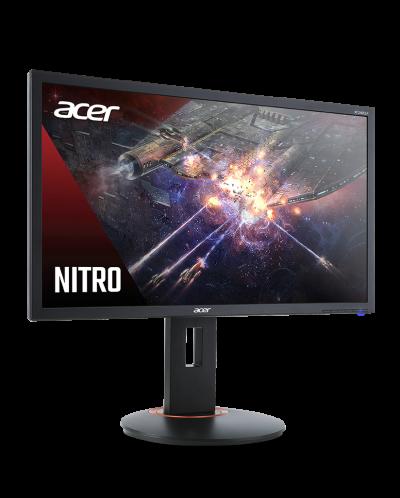 "Геймърски монитор Acer - XF240QP, 23.6"", FHD, 144Hz, FreeSync, 1ms, черен - 4"