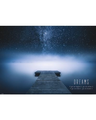 XL плакат Pyramid - Dreams - 1