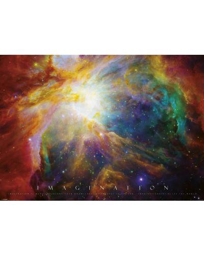 XL плакат Pyramid - Imagination (Nebula) - 1
