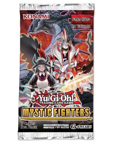 Yu-Gi-Oh Mystic Fighters Booster - 1
