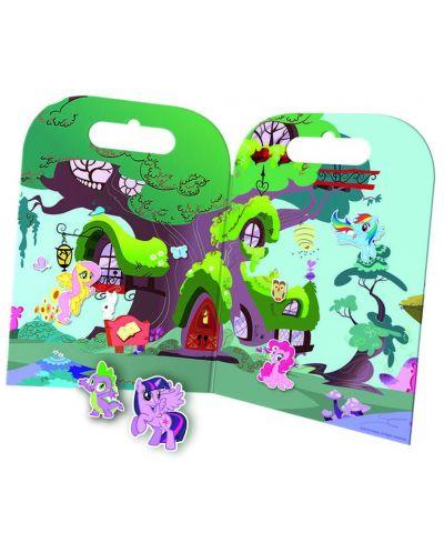 Активна игра със стикери Revontuli Toys Oy - Моето малко пони, Партито на Пинки Пай - 2